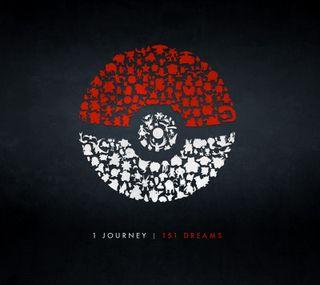 Обои на телефон покемоны, поездка, игра, pokemon go journey, 2016