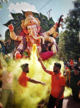 Обои на телефон ганпати, ганеша, господин, бог, баппа, mumbai, morya, marathi, housing cha raja, housing cha ganariya, ganpati bappa morya
