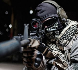 Обои на телефон снайпер, камуфляж, оружие, военные