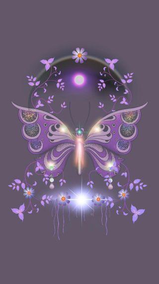 Обои на телефон работа, бабочки, арт, butterfly 1, art