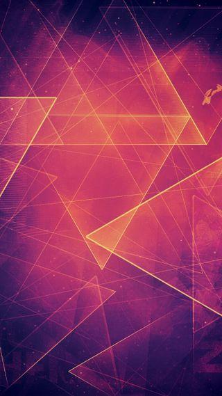 Обои на телефон оранжевые, фиолетовые, свет, крутые, абстрактные
