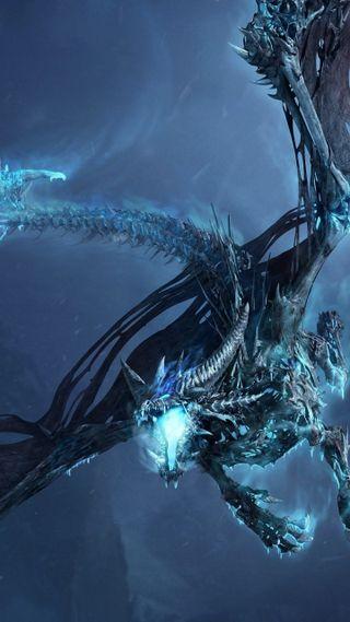 Обои на телефон летать, фантазия, синие, ночь, камни, дракон, jaws, dragon