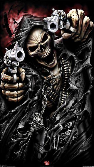 Обои на телефон жнец, череп, фантазия, призрак, мрачные, король, капюшон, всадник, the hood ghost rider
