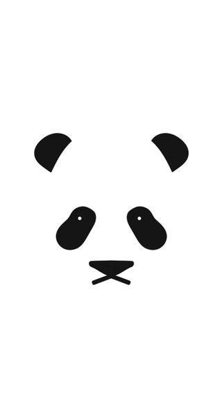 Обои на телефон иллюстрации, чистые, панда, минимализм, милые, лицо, крутые, грустные, hd
