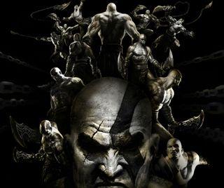 Обои на телефон видео, игра, война, бог, god of war