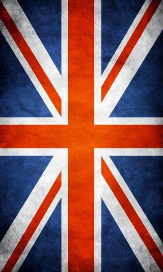 Обои на телефон англия, флаг