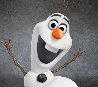 Обои на телефон холодное, фильмы, снеговик, олаф, дисней, olaf snowman, frozen movie, disney 2013