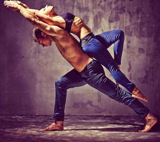Обои на телефон любовники, любовь, крутые, йога, lovers yoga, love