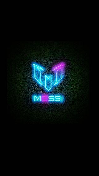 Обои на телефон трава, футбольные, футбол, спорт, неоновые, месси, логотипы