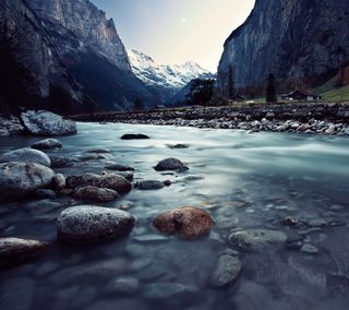 Обои на телефон рокки, камни, рок, озеро, горы, pebble