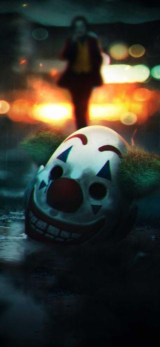 Обои на телефон маска, джокер, joker mask-off