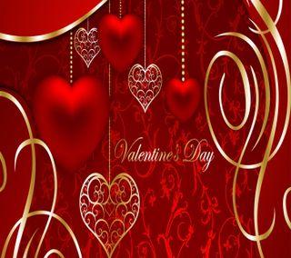 Обои на телефон день, валентинка, valentine  day