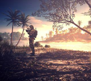 Обои на телефон солдат, армия, battlefield 4, battlefield