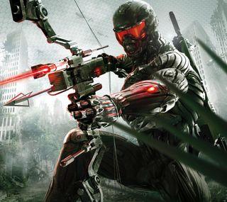 Обои на телефон видео, солдат, игра, воин, crysis