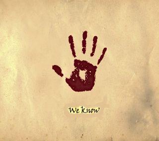 Обои на телефон знать, скайрим, рука, мы, логотипы, игра, we know