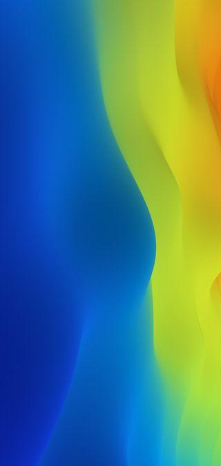 Обои на телефон градиент, фон, стандартные, синие, желтые, андроид, абстрактные, vivo, v9, android