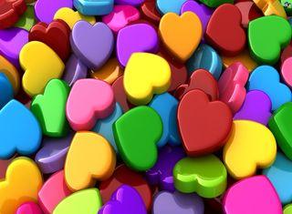 Обои на телефон цвета, синие, любовь, красые, красочные, желтые, дизайн, love