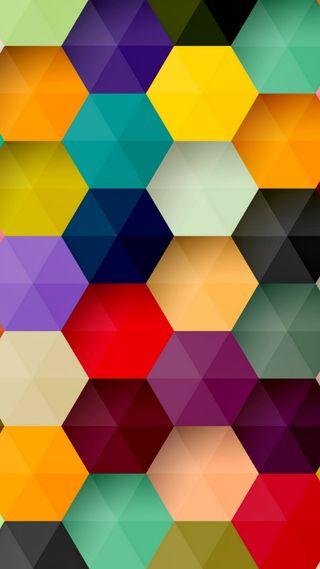 Обои на телефон формы, фон, приятные, прекрасные, новый, крутые, красочные, дизайн, hd, colorful shapes, 2014