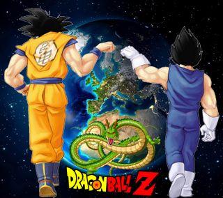 Обои на телефон драгонболл, мяч, мультфильмы, друзья, дракон, гоку, вегета, viktor904, tierra, dragonball z friends, dragon