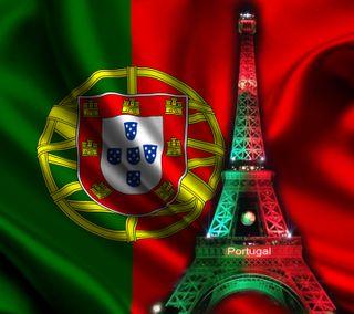 Обои на телефон португалия, эйфелева башня, чемпионы, цветные, футбольные, флаг, париж, башня, uefa, ue, eiffel tower paris