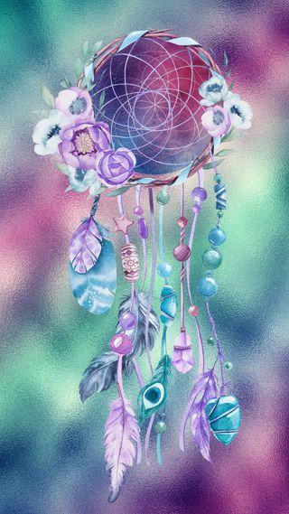 Обои на телефон мечта, цветные, радуга, премиум, любовь, ловец снов, красочные, абстрактные, love