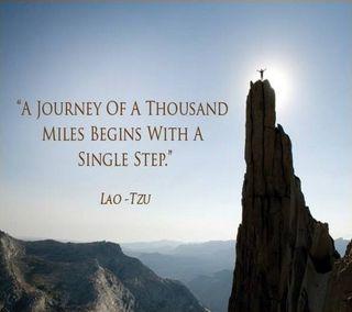 Обои на телефон поездка, один, майлз, thousand, step, lao tzu, begin
