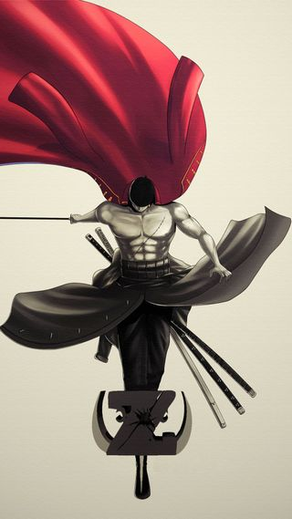 Обои на телефон зорро, swordsman, roronoa zoro