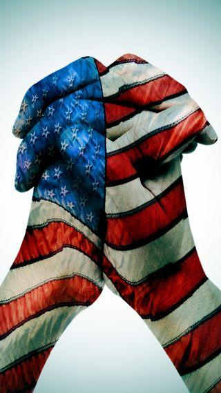 Обои на телефон руки, фон, флаг, сша, американские, usa