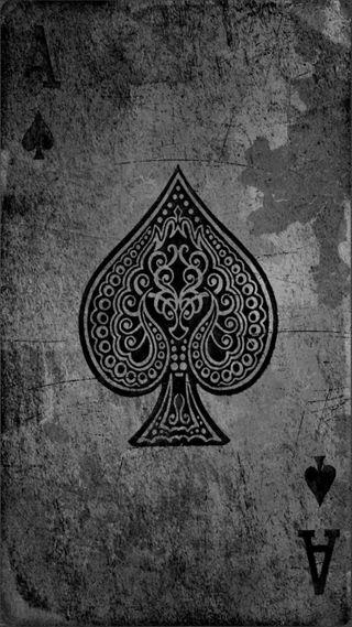Обои на телефон туз, ок, темные, приятные, крутые, классные, игра, ace of spades