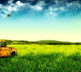 Обои на телефон рокки, трава, приятные, природа, прекрасные, небо, машины, любовь, крутые, зеленые, nice nature hd, love