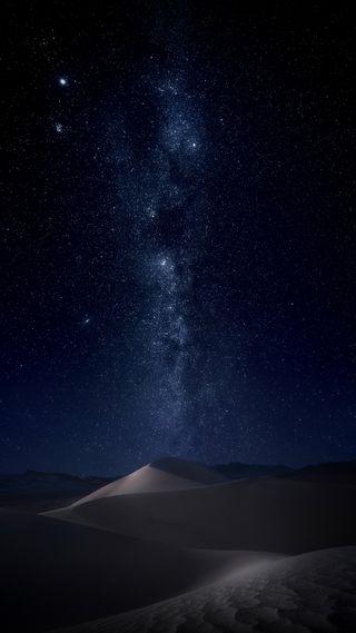 Обои на телефон красота, синие, природа, песок, ночь, звезды, военно морские, sand dune, s8, s7, navy blue, dune