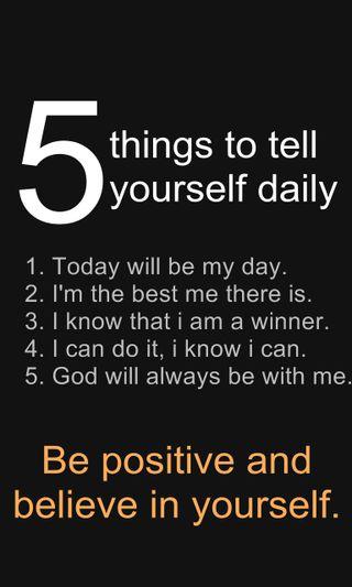 Обои на телефон позитивные, победитель, новый, крутые, день, дела, верить, бог, five, daily