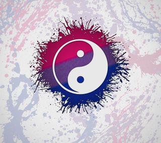 Обои на телефон bi, bi yin yang, прайд, янь, лгбт, инь