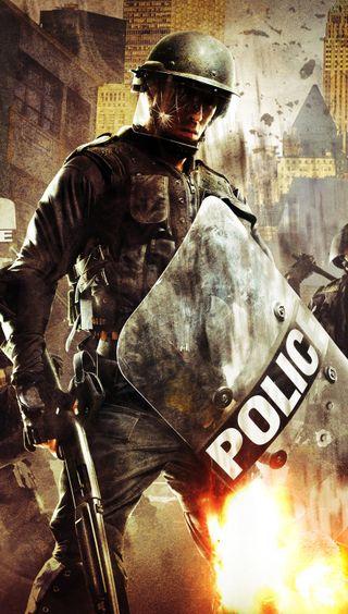 Обои на телефон полиция, a police