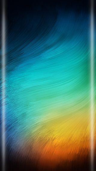 Обои на телефон стиль, грани, синие, омбре, красочные, коричневые, абстрактные, s7, edge style