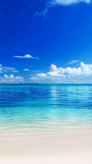 Обои на телефон пляж, остров