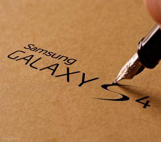 Обои на телефон чернила, ручка, бумага, самсунг, галактика, samsung galaxy s4, samsung, galaxy