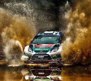 Обои на телефон форд, спортивные, скорость, ралли, машины, грязь, гоночные, авто, rally car, mud, ford, dirt