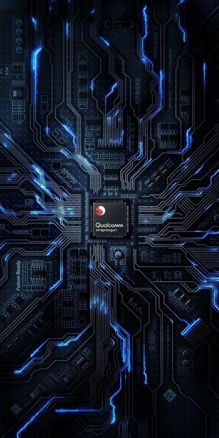 Обои на телефон микросхема, технологии, snapdragon ultimate