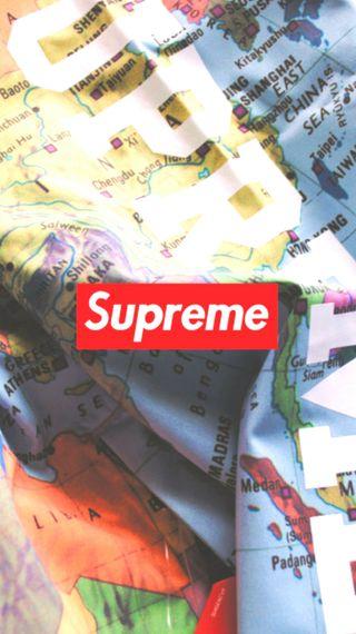 Обои на телефон скейт, арт, supreme, skateboarding, art