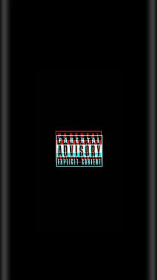 Обои на телефон рэп, музыка, лирика, грани, арт, s9, s7, parental guidance, parental advisory, explicit lyrics, art