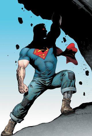 Обои на телефон экшен, супермен, новый, комиксы, new 52, action comics