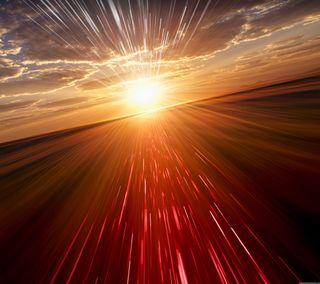 Обои на телефон солнце, супер, свет, красые, super red light, lighr