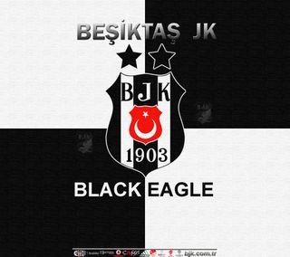 Обои на телефон картал, черные, футбольные клубы, орел, бесикташ, белые, siyah, carsi, besiktas fc 2013, 1903