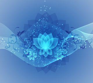 Обои на телефон лотус, фрактал, арт, lotus fractal, buddhism, art
