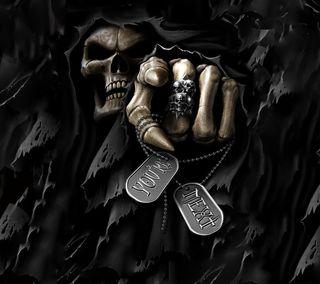 Обои на телефон жнец, череп, ты, темные, страшные, мрачные, жуткие, you are next