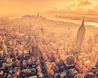 Обои на телефон нью йорк, пейзаж, новый, крутые, йорк, здания, город, абстрактные