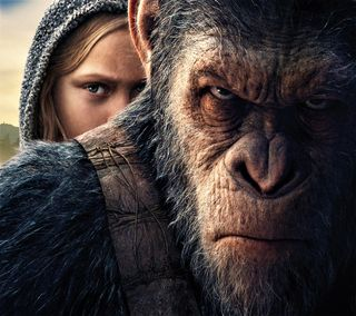 Обои на телефон планета, война, war for the planet, of the apes, 2017