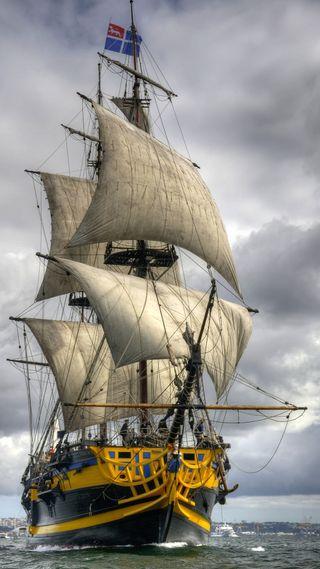 Обои на телефон корабли, океан, ship 3