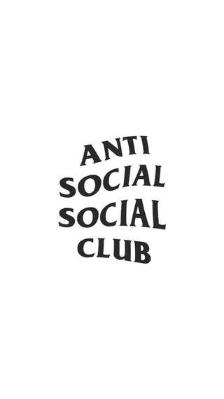 Обои на телефон базовые, эстетические, черные, цитата, социальное, логотипы, клуб, дизайнерские, белые, tumblr, antisocial, anti